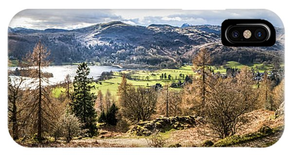 Grasmere Lake District National Park IPhone Case