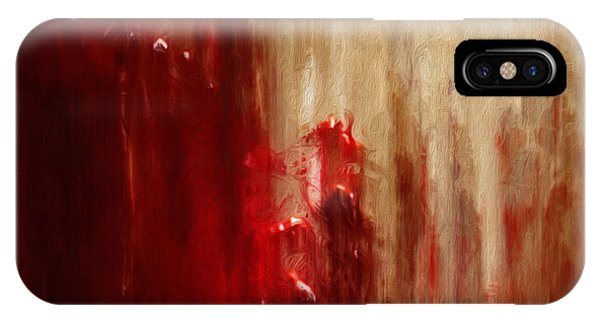 Struggle iPhone Case - Grasping by Jack Zulli