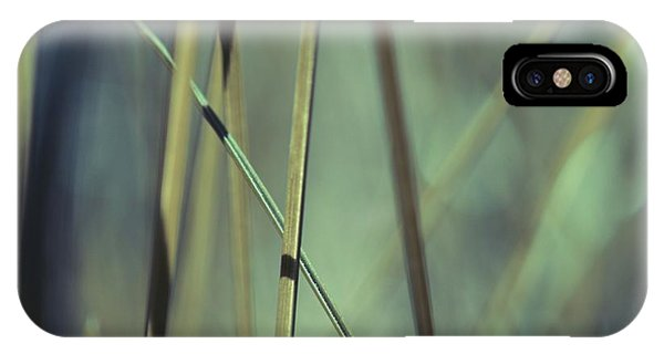 Grass Abstract - 03439gr IPhone Case