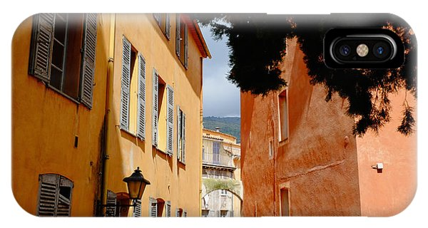 Grasse Alley France IPhone Case