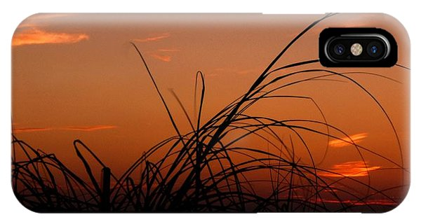 Grassy After Glow IPhone Case