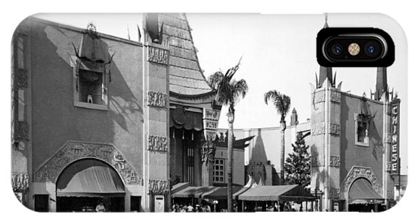 Grauman's Chinese Theater IPhone Case