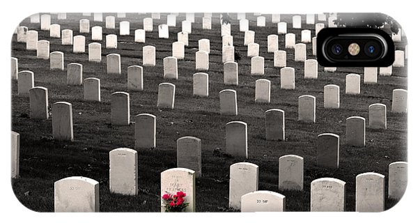 Graves At Arlington National Cemetery IPhone Case