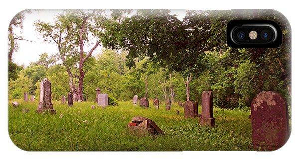 Graveyard 3 IPhone Case