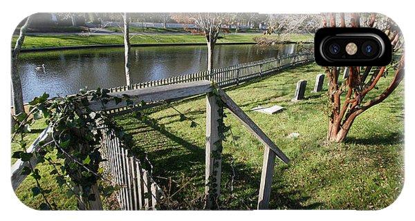 Graveyard East Hampton New York IPhone Case