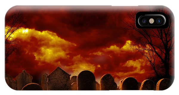 Graveyard IPhone Case