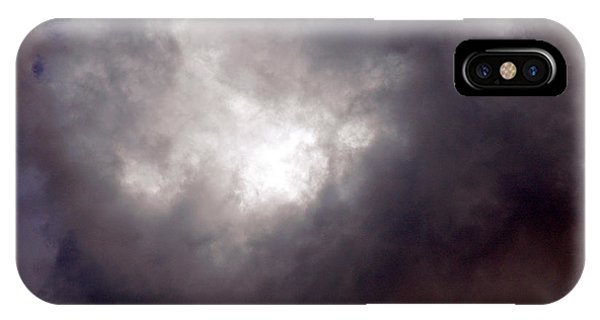 Gray Cloud IPhone Case