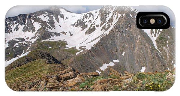 Grays And Torreys Peak IPhone Case