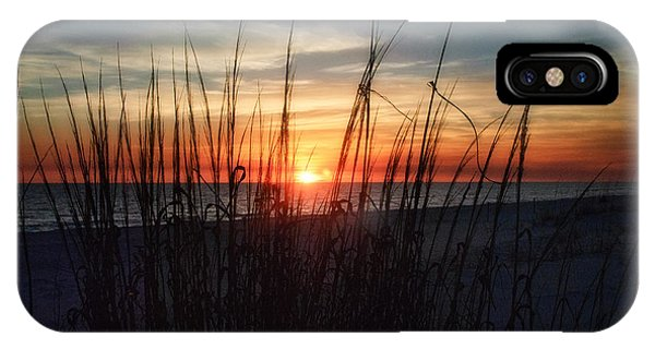 Grayton Beach Sunset 3 IPhone Case