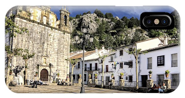 Grazalema Town Hall Square IPhone Case