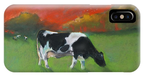 Grazing Cow IPhone Case