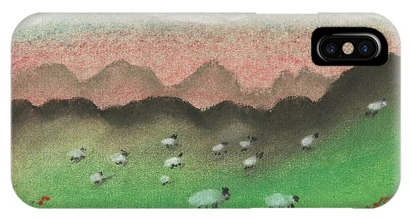 Grazing In The Hills IPhone Case