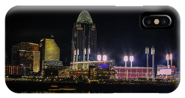 Great American Ball Park IPhone Case