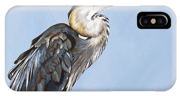 Great Blue I IPhone Case