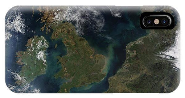 Northern Scotland iPhone Case - Great Britain And Ireland by Nasa/science Photo Library
