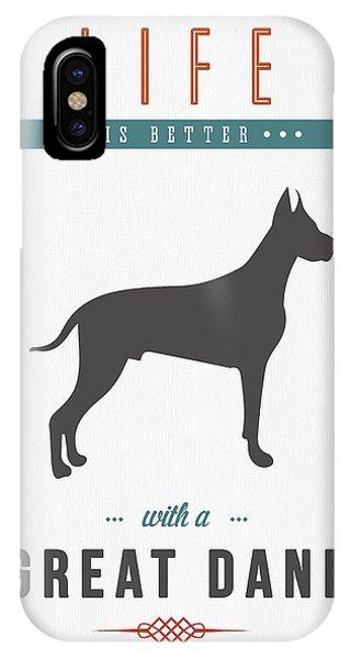 Great Dane 01 IPhone Case