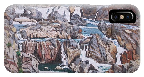 Great Falls 1 IPhone Case