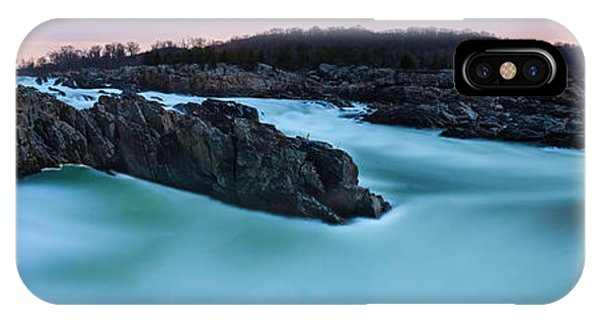 Great Falls By Full Moon Phone Case by Andrew Fritz