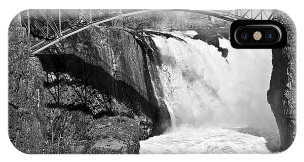 Great Falls In Paterson Nj IPhone Case