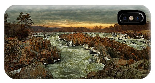 Great Falls Virginia Winter 2014 IPhone Case