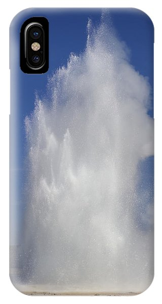 Great Fountain Burst IPhone Case