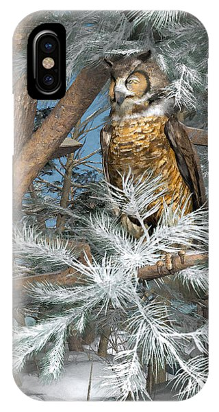 Great Horned Owl Phone Case by Peter J Sucy