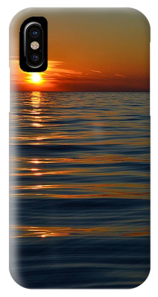 Great Lake Sunset IPhone Case