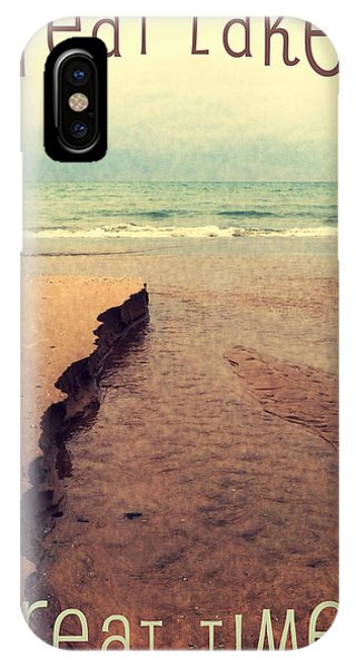 Great Lakes Great Times IPhone Case