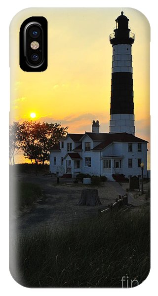 Great Lakes Lighthouse Big Sable Point IPhone Case