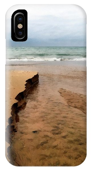 Great Lakes Shoreline IPhone Case