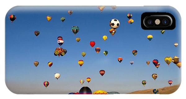 Great Reno Balloon Race IPhone Case