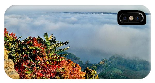 Great River Road Fog IPhone Case