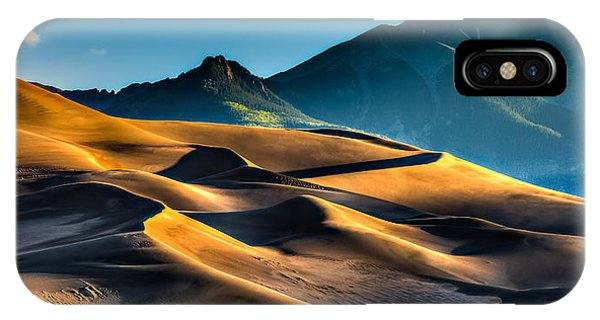 Great Sand Dunes At Dawn IPhone Case