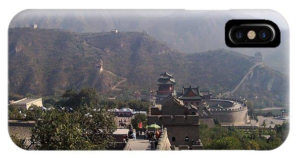Great Wall Of China At Badaling IPhone Case