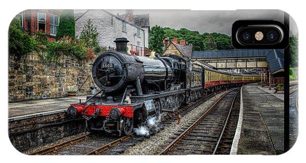 Sleeper iPhone Case - Great Western Locomotive by Adrian Evans