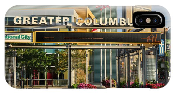 D8l-245 Greater Columbus Convention Center Photo IPhone Case