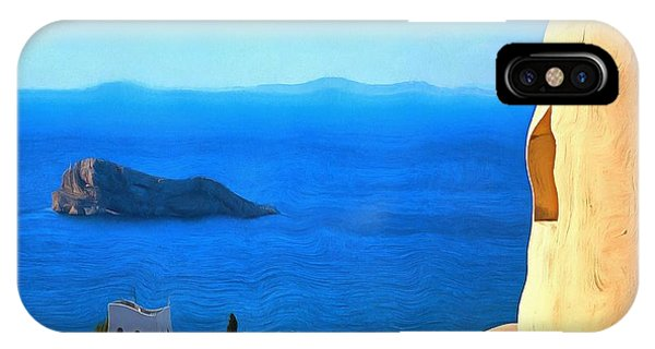 Grecian Blue IPhone Case