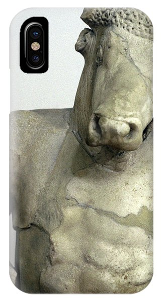 Minotaur iPhone Case - Greece, Athens Classical Era Marble by Jaynes Gallery