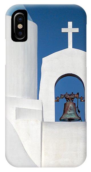 Greece iPhone X Case - Greek Island Church by Stelios Kleanthous