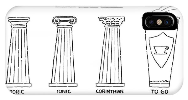 Greek Orders IPhone Case