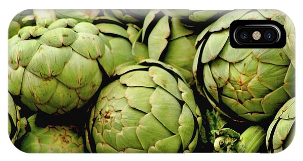 Green Artichokes IPhone Case