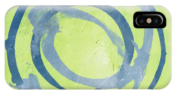 Green Blue IPhone Case