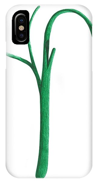 Green Branche IPhone Case