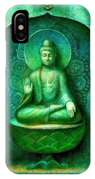 Green Buddha IPhone Case