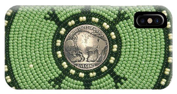 Green Buffalo Turtle IPhone Case
