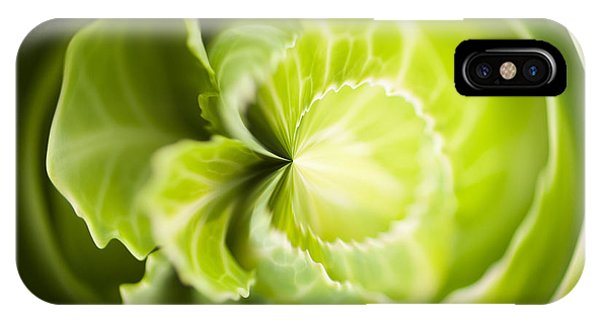 Green Cabbage Orb IPhone Case