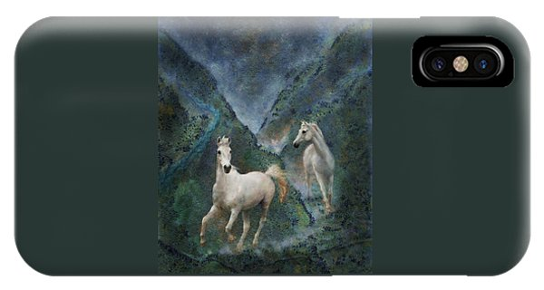 Green Canyon Run IPhone Case