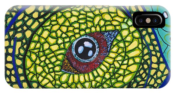 Green Eye Phone Case by Patrick OLeary