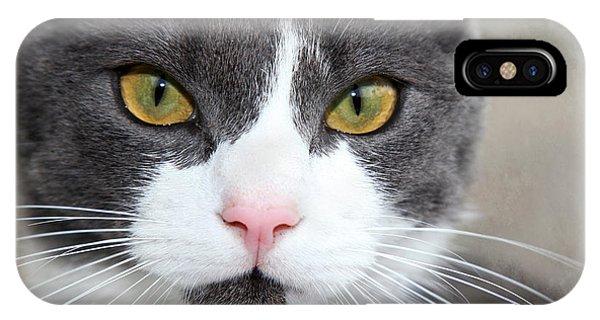 Green Eyes IPhone Case