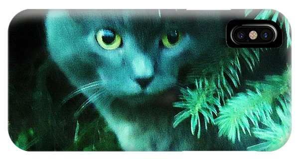 Green Eyes IPhone Case